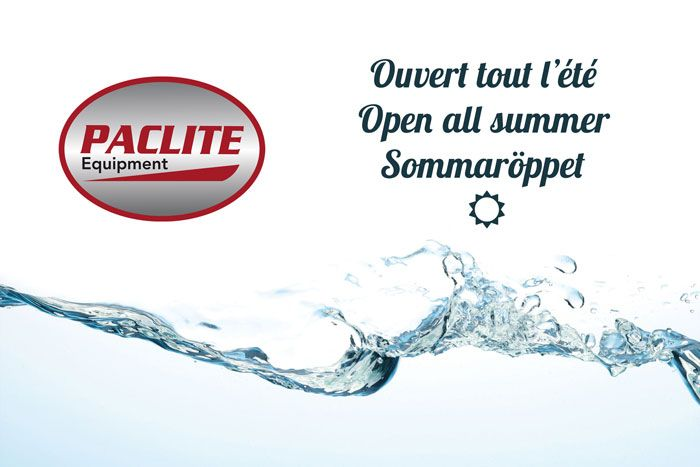 Paclite Equipment reste ouvert tout l'été